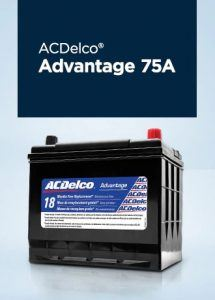 ACDelco Battery ADVANTAGE 75A Jack Carter Northstar GM Creston BC